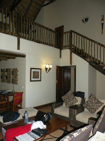 Chobe Marina Lodge: Wirklich sehr großes Haus