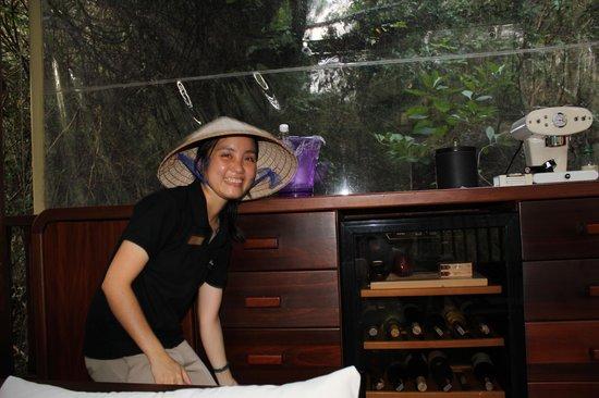 An Lam Ninh Van Bay Villas: Speziellen Dank an unsere Butlerin: Trang