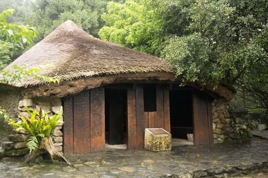 Tribal house picture of formosan aboriginal culture for Tribal house