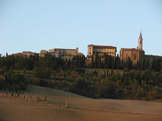 Agriturismo Il Casalino: view on Pienza
