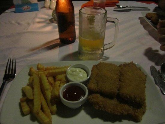 Chantaramas Resort: fish & chips