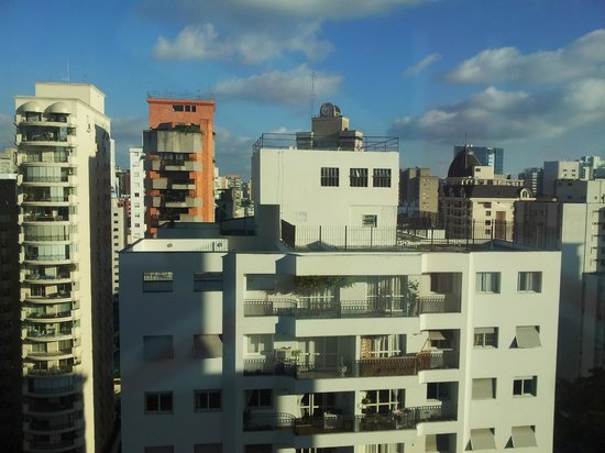 Melia Jardim Europa: ,view from 16th floor