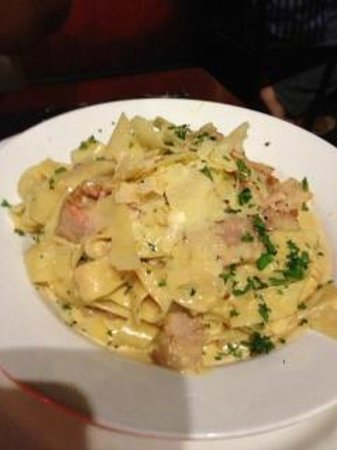 Belvedere Restaurant : Pasta Carbonara.