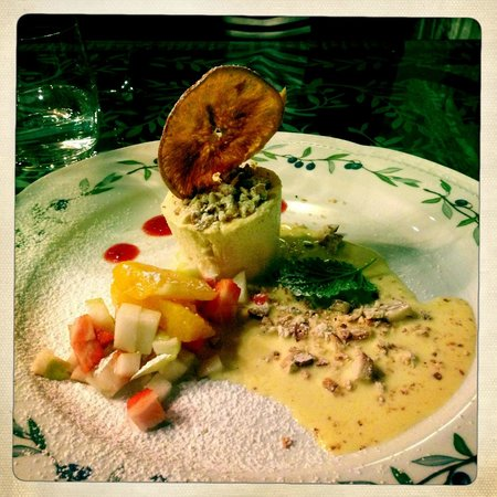 Villa Campestri Olive Oil Resort: Amazing food