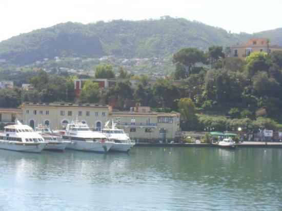 Aragona Palace Hotel: L' hotel dal porto