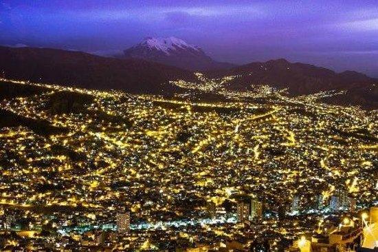 La Paz Walking Tours: Vista nocturna