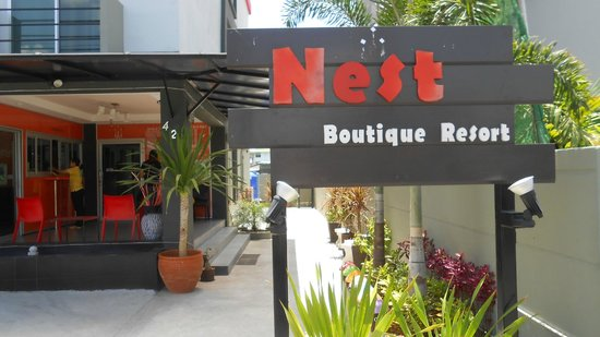 Nest Boutique Resort: frente