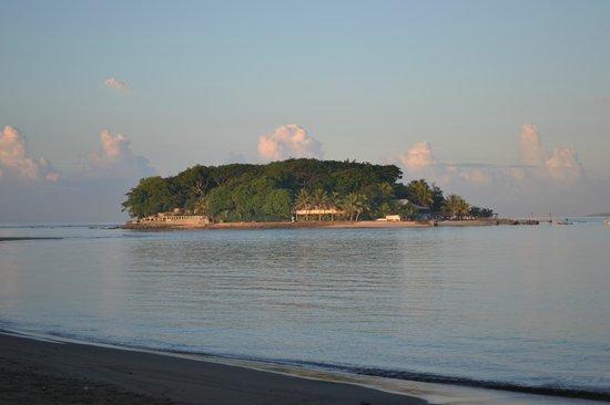 Hideaway Island Resort & Marine Sanctuary: Hideaway Island Resort by sunrise
