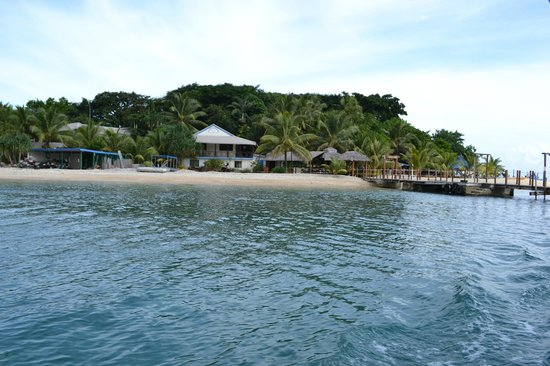 Hideaway Island Resort : Hideaway Island view from the ferry