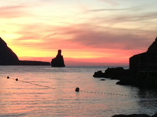 Elements Ibiza Beach Restaurant: Il tramonto