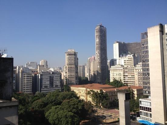 Bourbon Sao Paulo Express Hotel : vista desde la habitación 1103