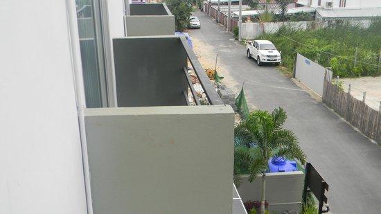 Nest Boutique Resort: balcones