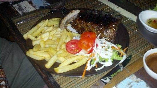 Lanna Restaurant: pork ribs
