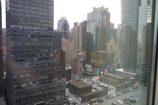 ‪‪Staybridge Suites Times Square - New York City‬: VUE CHAMBRE‬