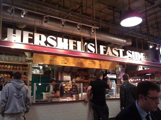 Hershel's East Side Deli: find this for breakfast really!