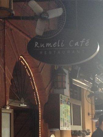 Rumeli Cafe & Restaurant : ecco l'entrata
