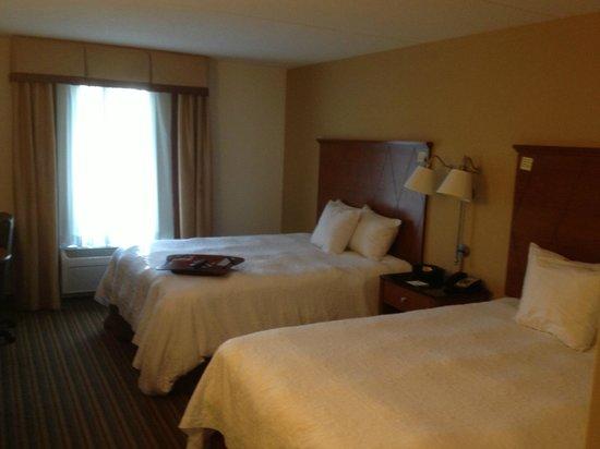 Hampton Inn Hampton-Newport News : Room was bright and clean!