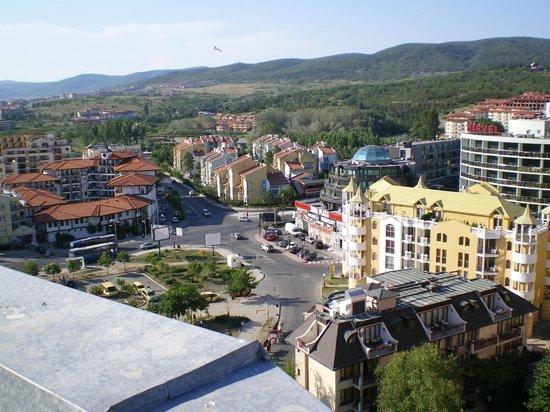 Slavyanski Hotel: Вид на горы