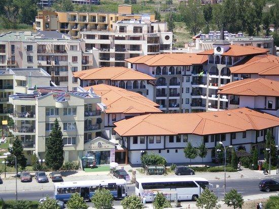 Slavyanski Hotel: Вид из номера