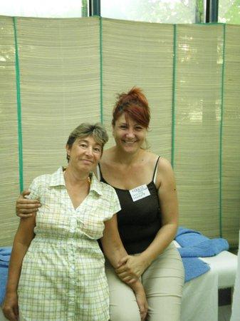 Slavyanski Hotel : Прекрасная улыбка прекрасной женщины (массажный кабинет отеля)