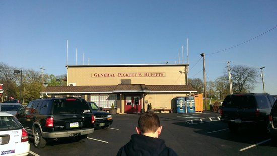 General Pickett's Buffets : Time to eat