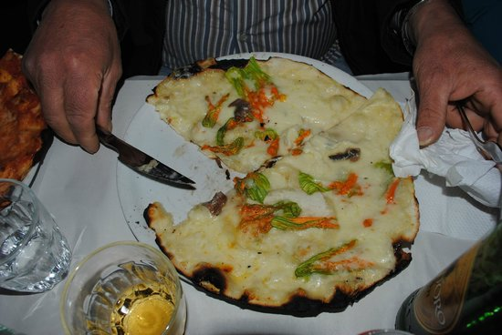 Pizzeria da Remo: pizza fiori di zucca