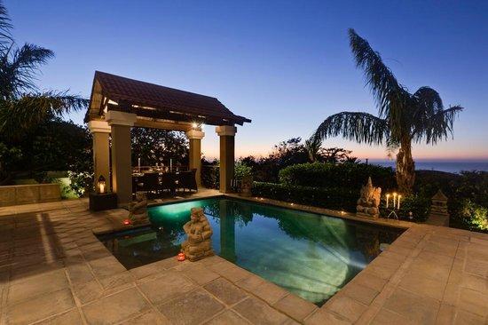 The Cape Bali: Pool Area at night