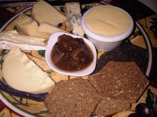 Dunkerley's Restaurant: Cheese Board