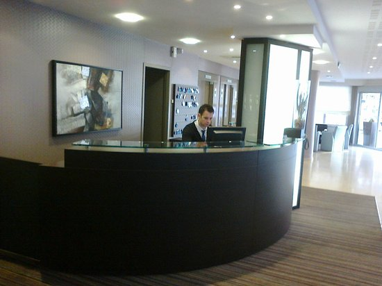 Helgon Hotel: reception