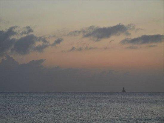 Silver Sands: Sunset off SS beach