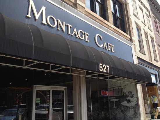 Montage Cafe: Exterior