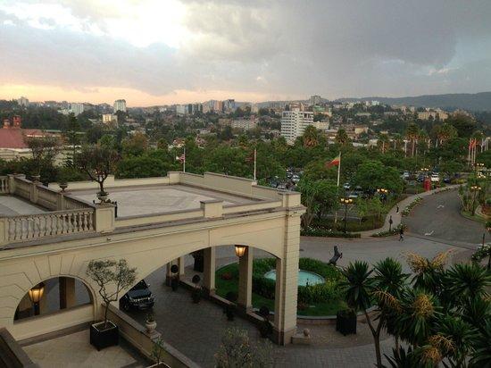 โรงแรมเชอราตั้นแอดดิส: The view from my room