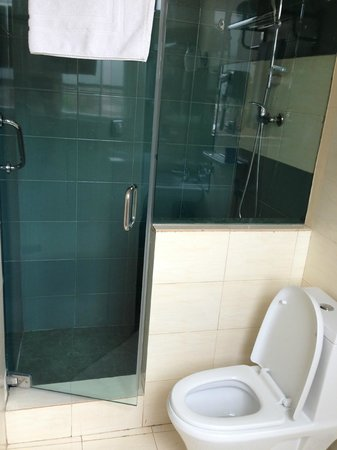 Addis Regency Hotel: Spotless bathroom