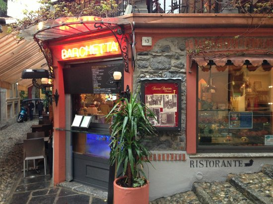 Ristorante Terrazza Barchetta : How you ant your little Italian eatery to look