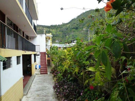 Hostal Timara: Viel Grün vor Augen
