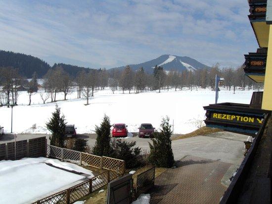 Ferienhotel Knollhof: Blick vom Balkon