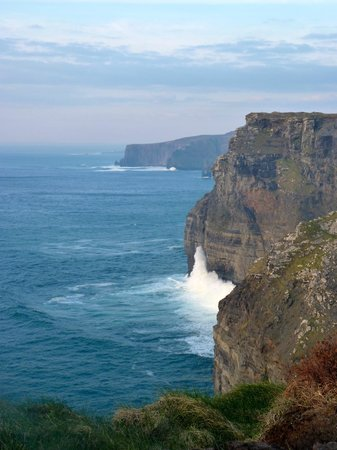 Nellie Dees: Cliffs of Moher in the evening