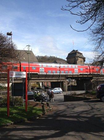 Haus Bucheneck: Railway