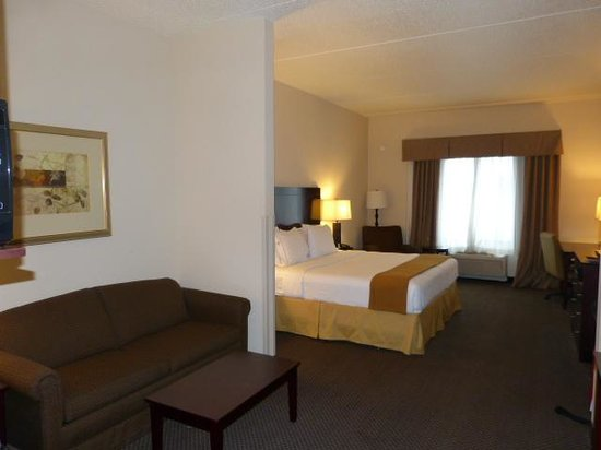 Holiday Inn Express Hotel & Suites Chicago Airport West: Great Suites
