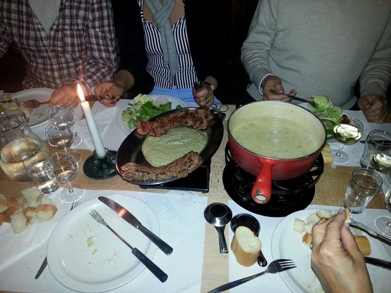 Cafe Bern: Belle fondue à consommer sans modération