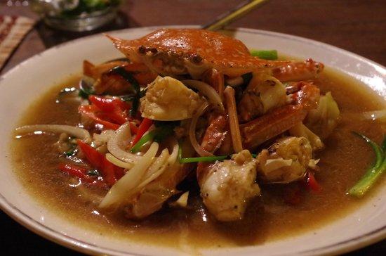 La Sala: Curry de crabe, tout simplement merveilleux