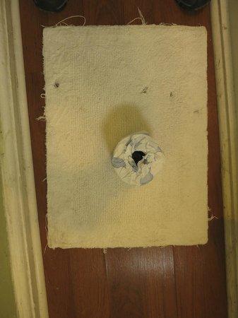 Olde Town Inn: Bathmat