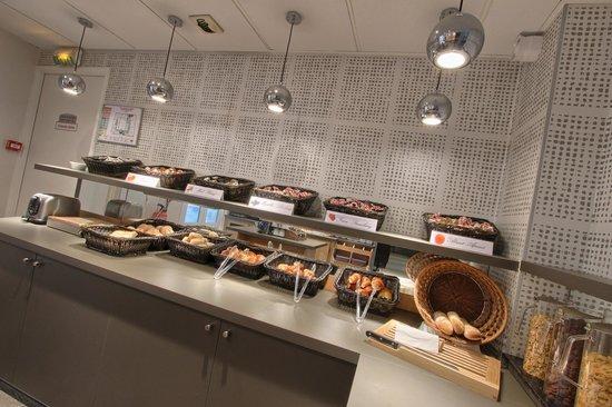 Timhotel Opera Madeleine: buffet du petit déjeuner