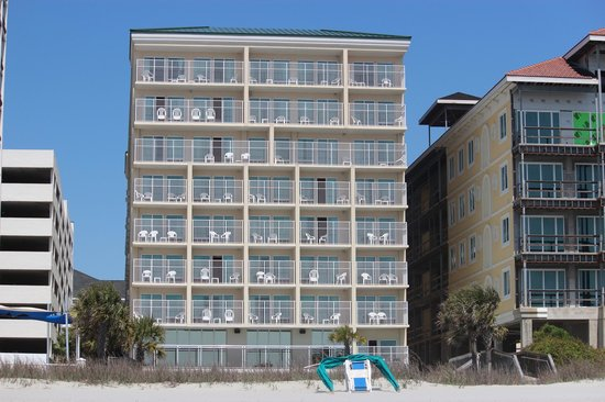 Myrtle Beach Atlantic Palms Oceanfront View Of The Rooms Our Two Bedroom Was