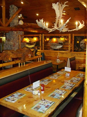 Log Cabin Family Restaurant: The Big Table