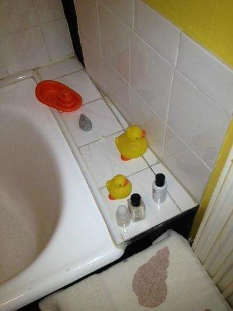 Mill House B&B: Our Bathroom Toys