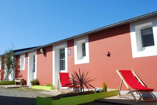 Le Relais Côtier : Chambres triples avec terrasse plein sud