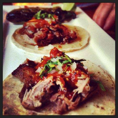 Don Pisto's : Carnitas Tacos.