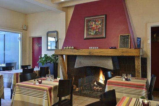 Le Cantalou : la cheminée