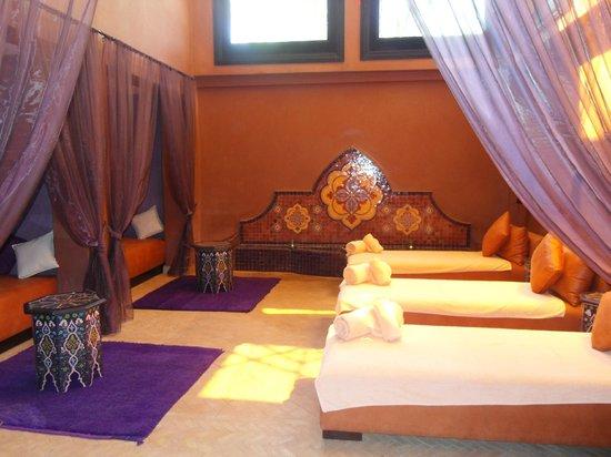 Palais Aziza & Spa: La salle de repos aprés une séance de Hammam ( avec le thé offert )